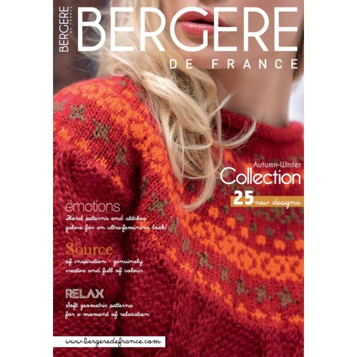 Журнал BERGERE DE FRANCE №171 с инструкцией на русском языке