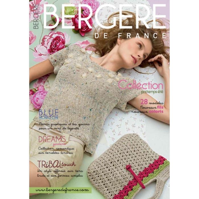 Журнал BERGERE DE FRANCE №172 с инструкцией на русском языке
