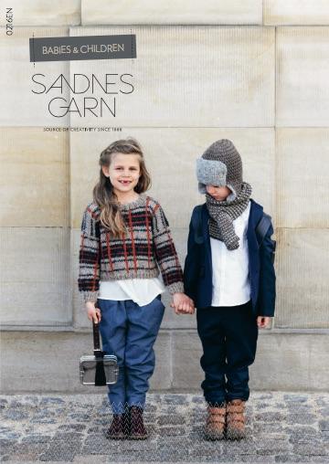 Журнал SANDNES GARN 0216EN (BABIES and CHILDREN) с инструкцией на английском языке