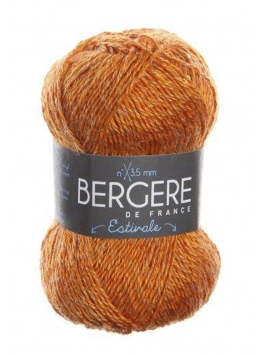 Пряжа BERGERE DE FRANCE ESTIVALE (50% акрил, 21% волокно конопли, 29% полиамид 50г 115м)
