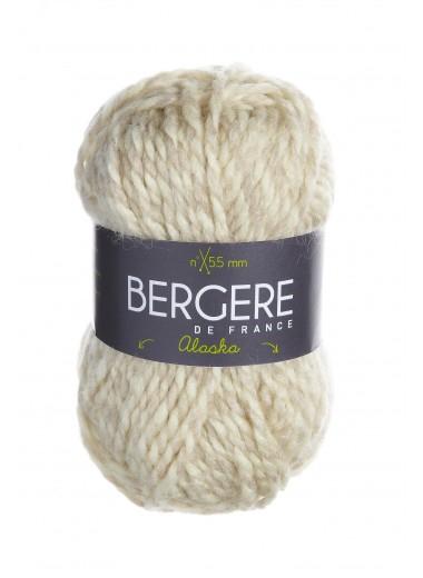 Пряжа BERGERE DE FRANCE ALASKA (50% шерсть, 50% акрил 50г 55м)