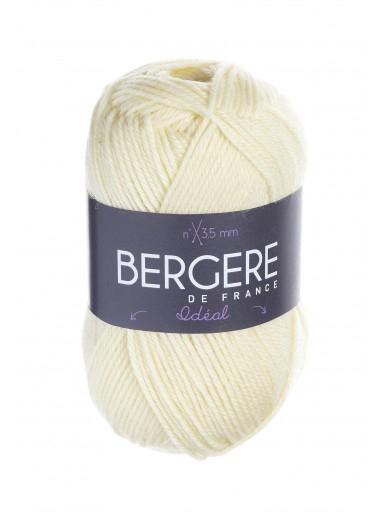 Пряжа BERGERE DE FRANCE IDEAL (40% шерсть, 30% акрил, 30% полиамид 50г 125м)