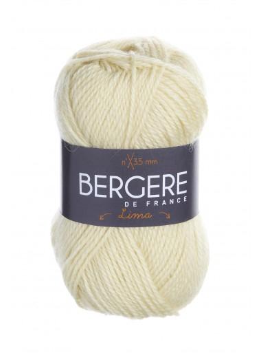 Пряжа BERGERE DE FRANCE LIMA (80% шерсть, 20% альпака 50г 110м)
