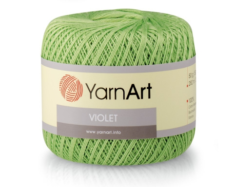 Пряжа YARNART VIOLET (100% мерсеризованный хлопок 50г 282м)
