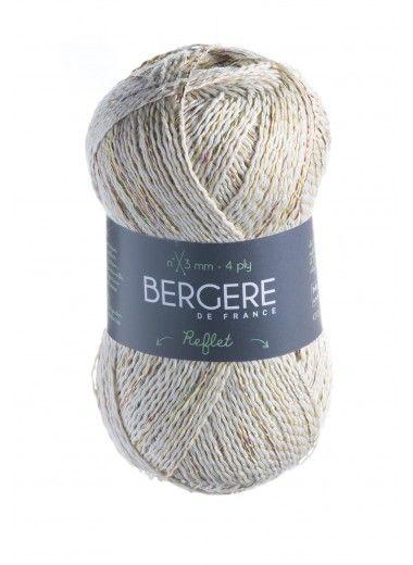 Пряжа BERGERE DE FRANCE REFLET (61% органический хлопок, 39% полиэстер 100г 300м)