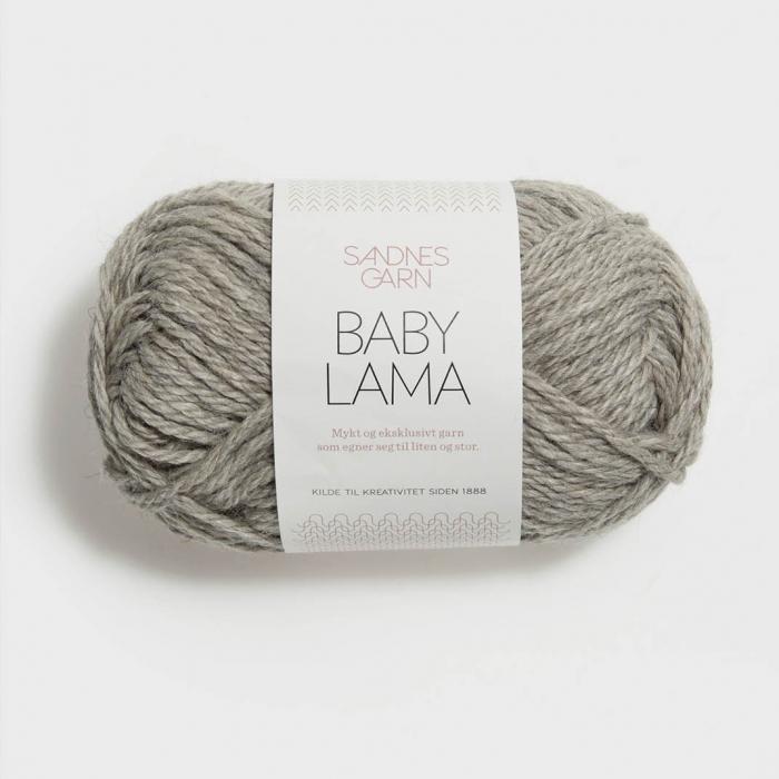Пряжа SANDNES GARN BABY LAMA (100% бэби лама 50г 67м)