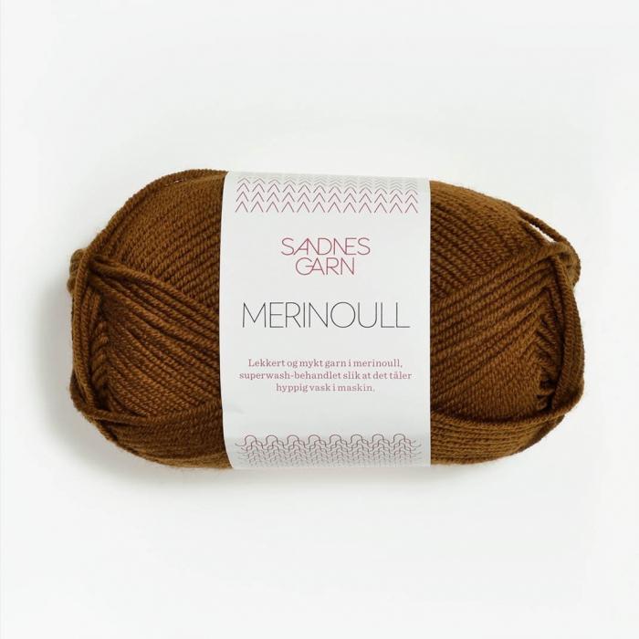 Пряжа SANDNES GARN MERINOULL (100% мериносовая шерсть 50г 105м)